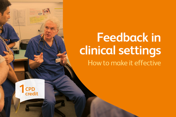 Feedback in clinical settings